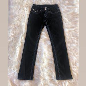 TRUE RELIGION Straight-Leg Jeans, Size 25.